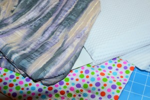 Fabrics that require sew in interfacing