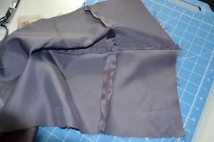 Fake strapless dress bodice