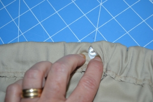 Buttonhole elastic